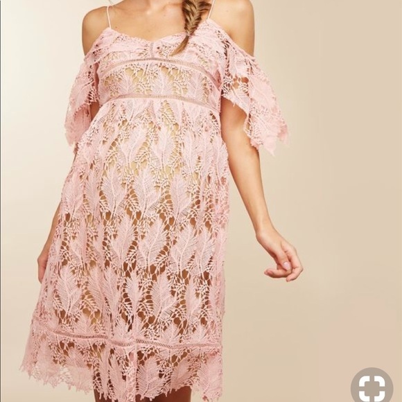 Motherhood Maternity Dresses Pink Crochet Maternity Dress Poshmark